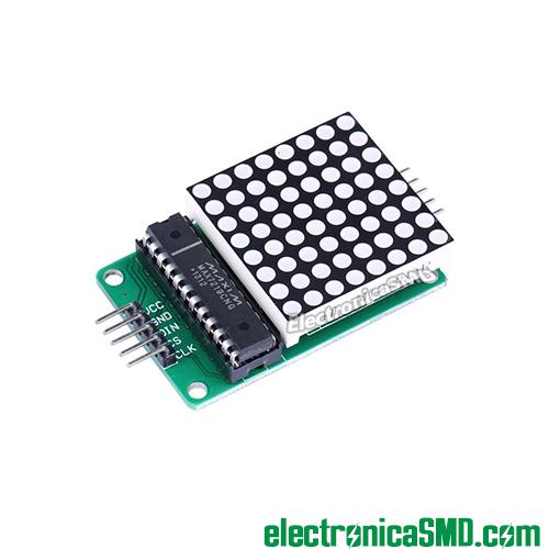 MAX7219 Driver LEDS Serial, max7219, driver led guatemala, electronica, electronico, circuito integrado, modulo matriz, modulo matrix