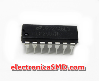 LM2907 Frequency to Voltage Converter Cicuitos Integrados CI Electronica Electronico Guatemala ElectronicaSMD