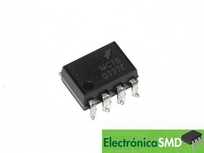 MCT6, Optoacoplador Doble, Electronica, Electronico, Guatemala, smd optoaislador