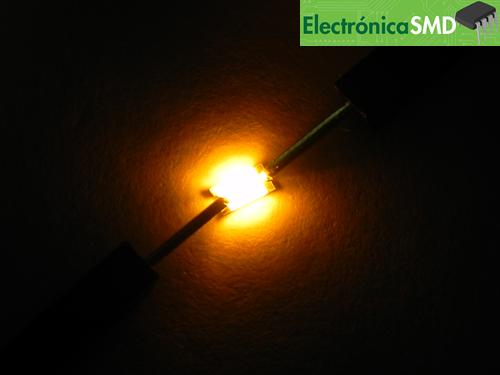led smd rojo, leds, led, smd, montaje superficial, smd, electronica, electronico, guatemala, 1206, led smd, smd 1206