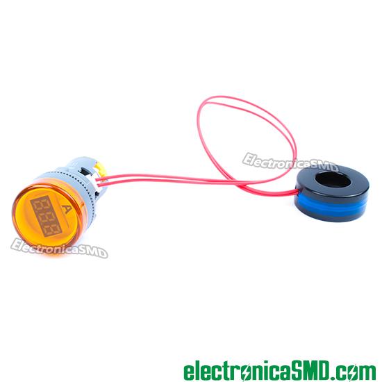 amperimetro digital guatemala ac, amperimetro, amperimetro corriente alterna, amperimetro ac, medidor ac, guatemala, electronica, electronico