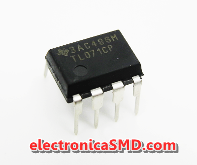 TL071 Operacional JFET Cicuitos Integrados CI Electronica Electronico Guatemala ElectronicaSMD