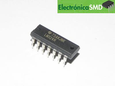 LM324, Operacional, Cicuitos Integrados, CI, Electronica, Electronico, Guatemala LM324, ElectronicaSMD