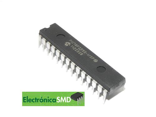 pic18f2550 guatemala, microcontrolador pic pi18f, electronica, electronico, guatemala, pic guatemala