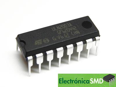 ULN2003 Integrado Arreglo de Transistores  Cicuitos Integrados CI, Electronica, Electronico, Guatemala, ElectronicaSMD, ULN2003A
