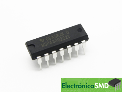msp430g2221, guatemala, electronica, electronico, texas instrument, microcontrolador, uc, pic