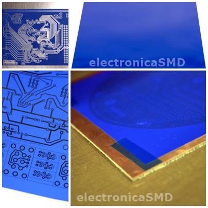 hoja papel termotransferencia circuito impreso guatemala
