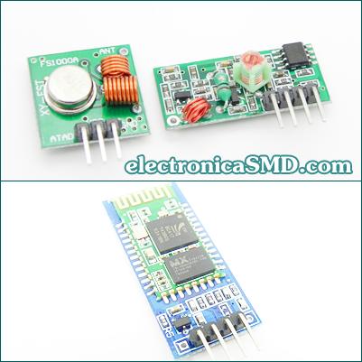modulo rf, radio frecuencia, inalambrica, rf, ask, bluetooth, arduino, guatemala, electronica, electronico