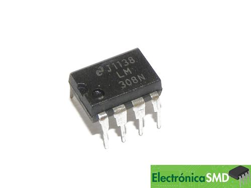 opamp, operacional, amplificador operacional, lm308, guatemala, electronica, electronico