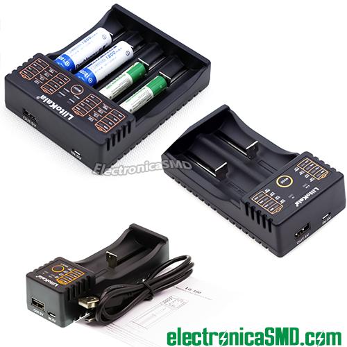 cargador 18650, guatemala, electronica, electronico