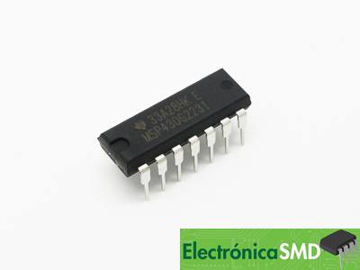 msp430g2231, guatemala, electronica, electronico, texas instrument, microcontrolador, uc, pic