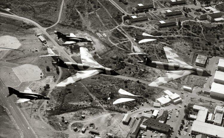 54, 55, 56, 57 Squadrons - over RAF Akrotiri, Cyprus