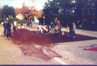 Kletterbaum bei der Pestalozieschule Gifhorn