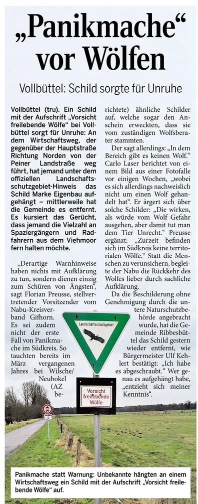 Aller Zeitung 03.02.2016