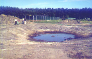 Wasserspielplatz und Tollhügel bei der OS Leiferde