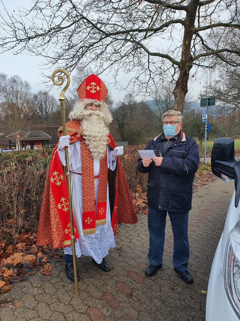 Bürgerbusverein Kirkel informiert: Nikolaus beim Bürgerbus Kirkel