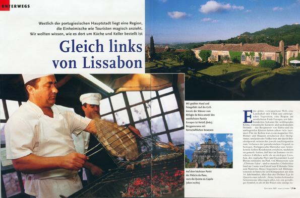 Essen und Trinken - Reisereportage Portugal
