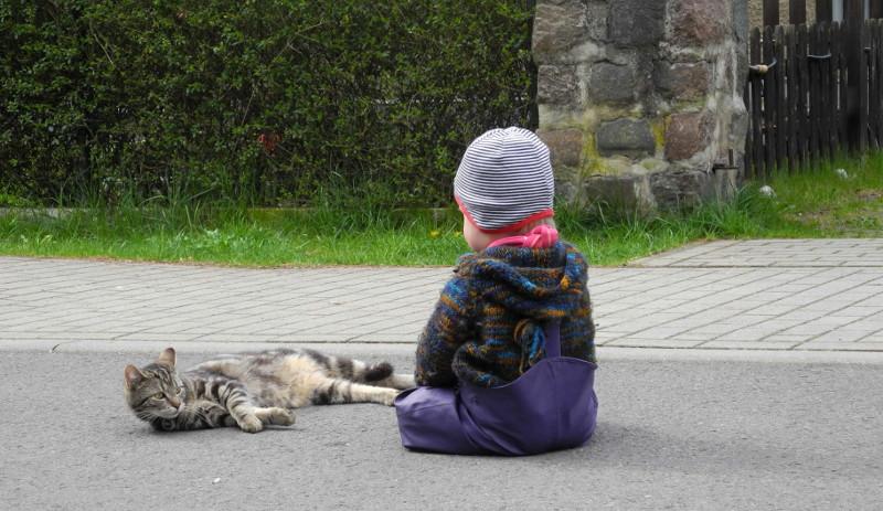 """Strickjacke für Babys & Kinder aus ökologischer peruanischer Wolle von """"Mellerschter Schafhof"""""""