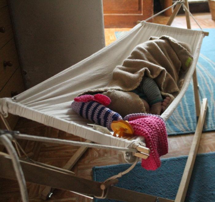 kuschelige Babydecke aus Wolle, von Hand umhäkelt von ritsch-ratsch
