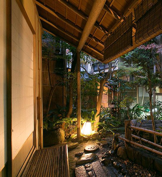 茶室「紅亭」の外観