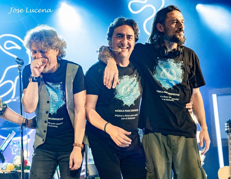 Músicos de Manolo García en concierto, Granada (01-11-2019)