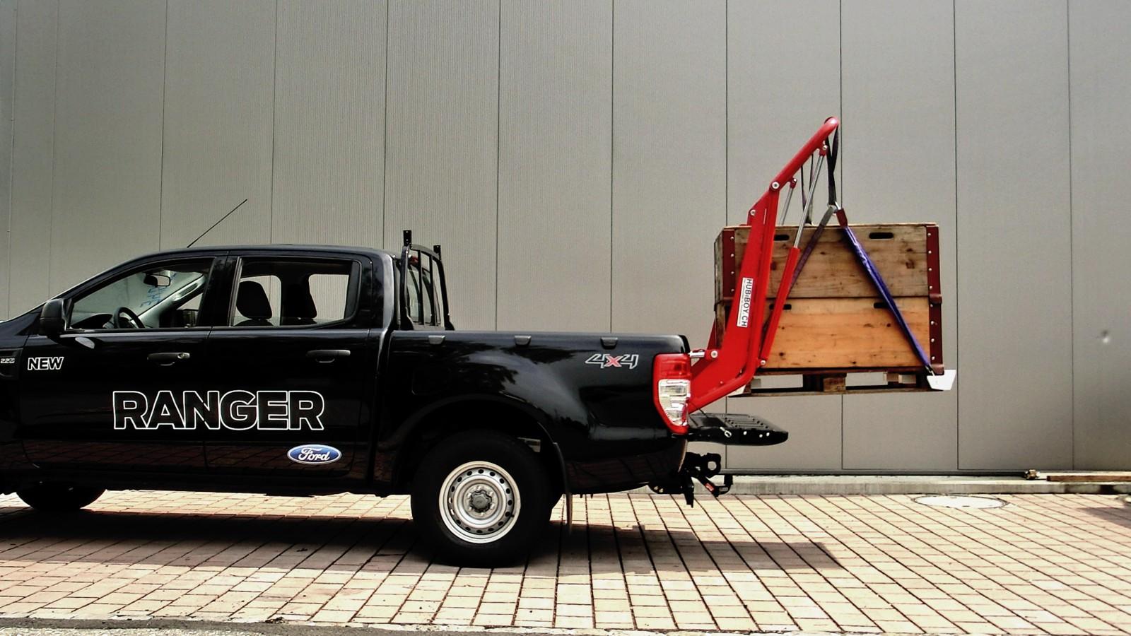 hubiboy monster das verladesystem f r pickup trucks. Black Bedroom Furniture Sets. Home Design Ideas