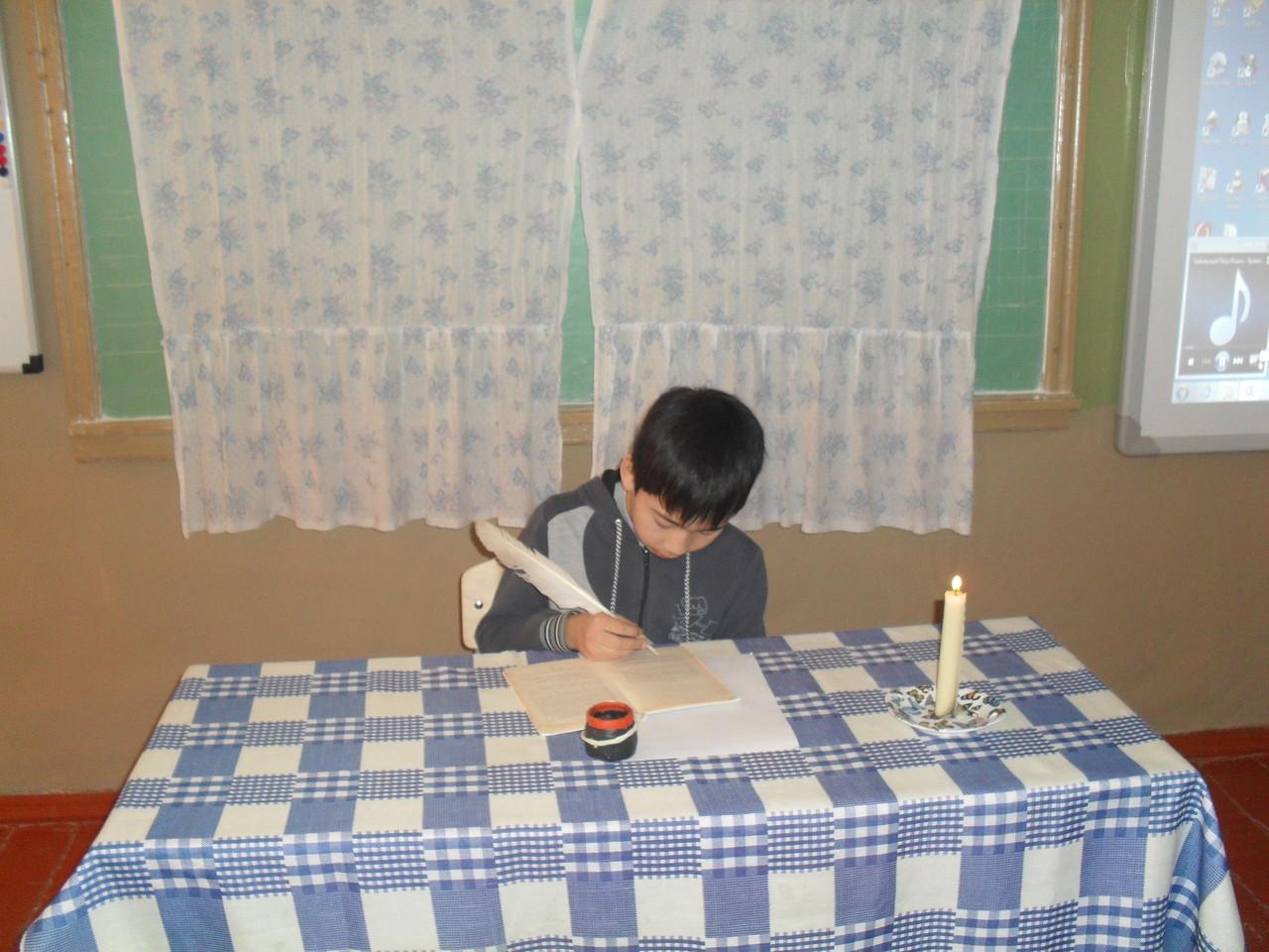 """Сценка из рассказа А.П.Чехова """"Ванька""""(письмо Ваньки Жукова дедушке)"""