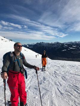 Guido Lanter auf Skitour