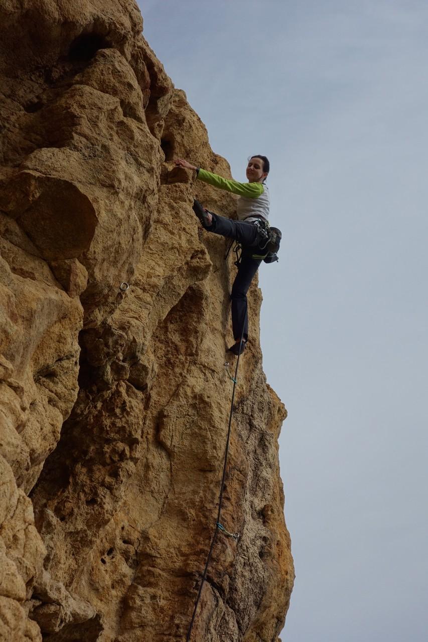 Denise Sigg auf Korsika