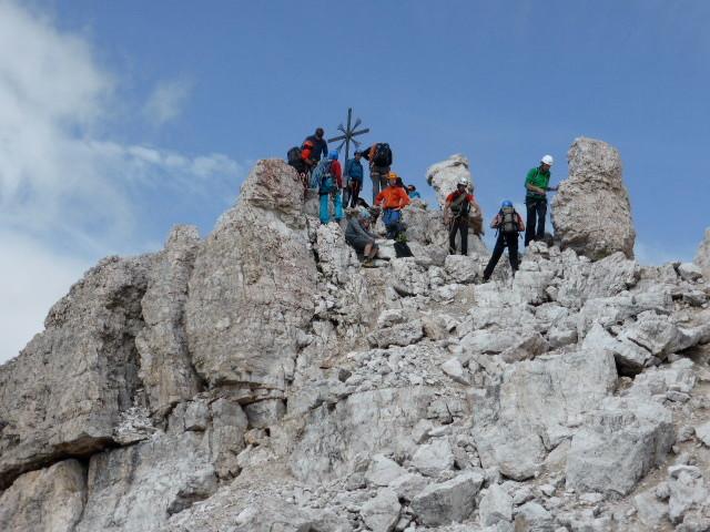 Gipfel grosse Zinne