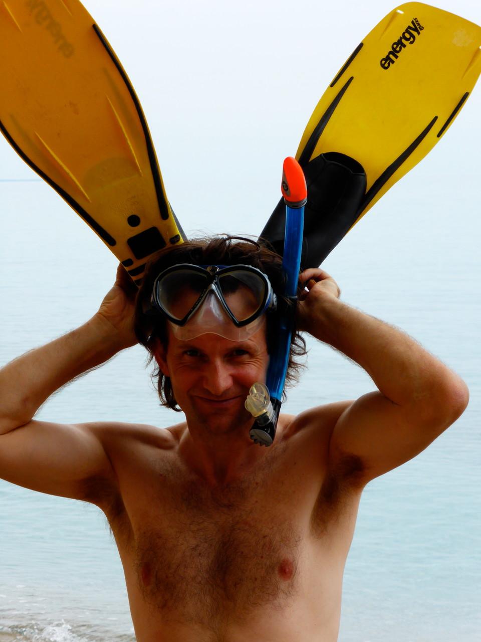 Daniel Fritschi auf Sardinien