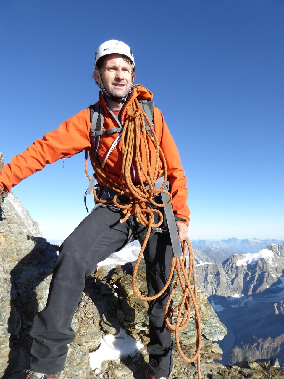 Daniel Fritschi auf dem Matterhorn