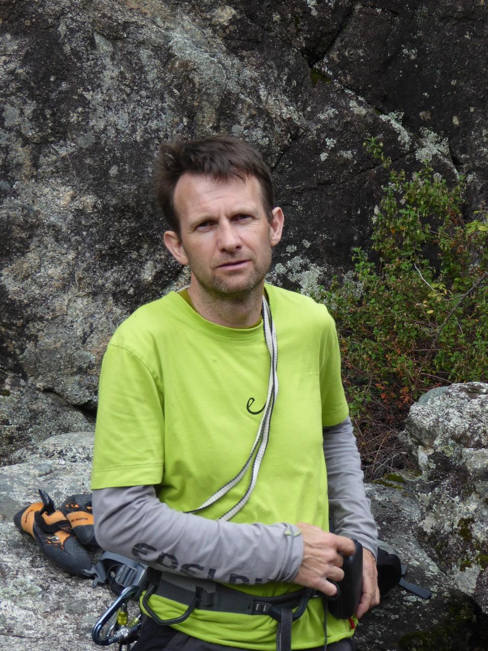 Daniel Fritschi auf Korsika