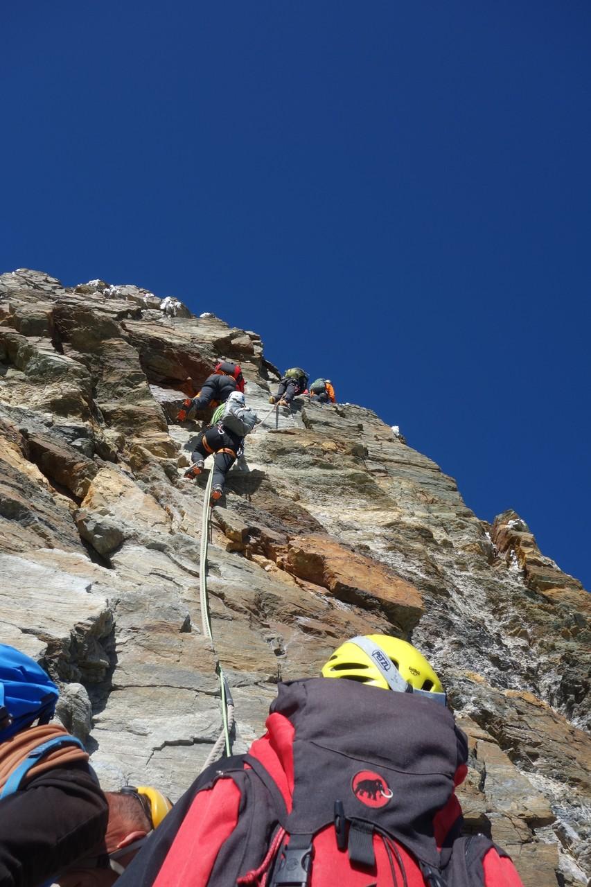 Matterhorn über Normalweg