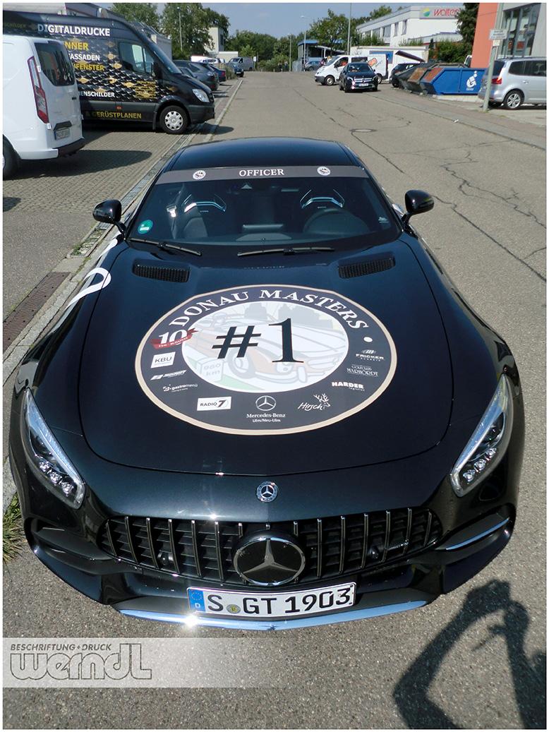 Begleitfahrzeug für die Donau-Masters 2018
