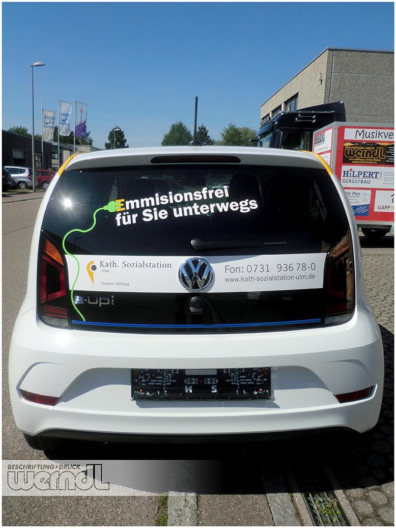 Flottendesign für einen mobilen Pflegedienst