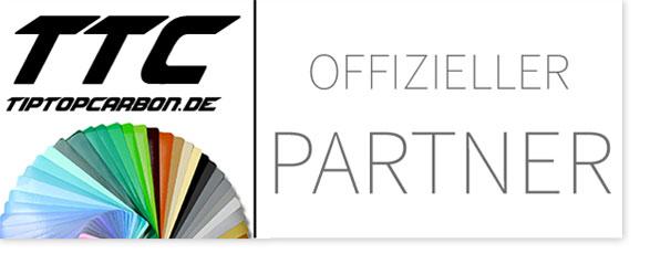 Wir sind Partner von TipTopCarbon - Der Online-Shop für Folien