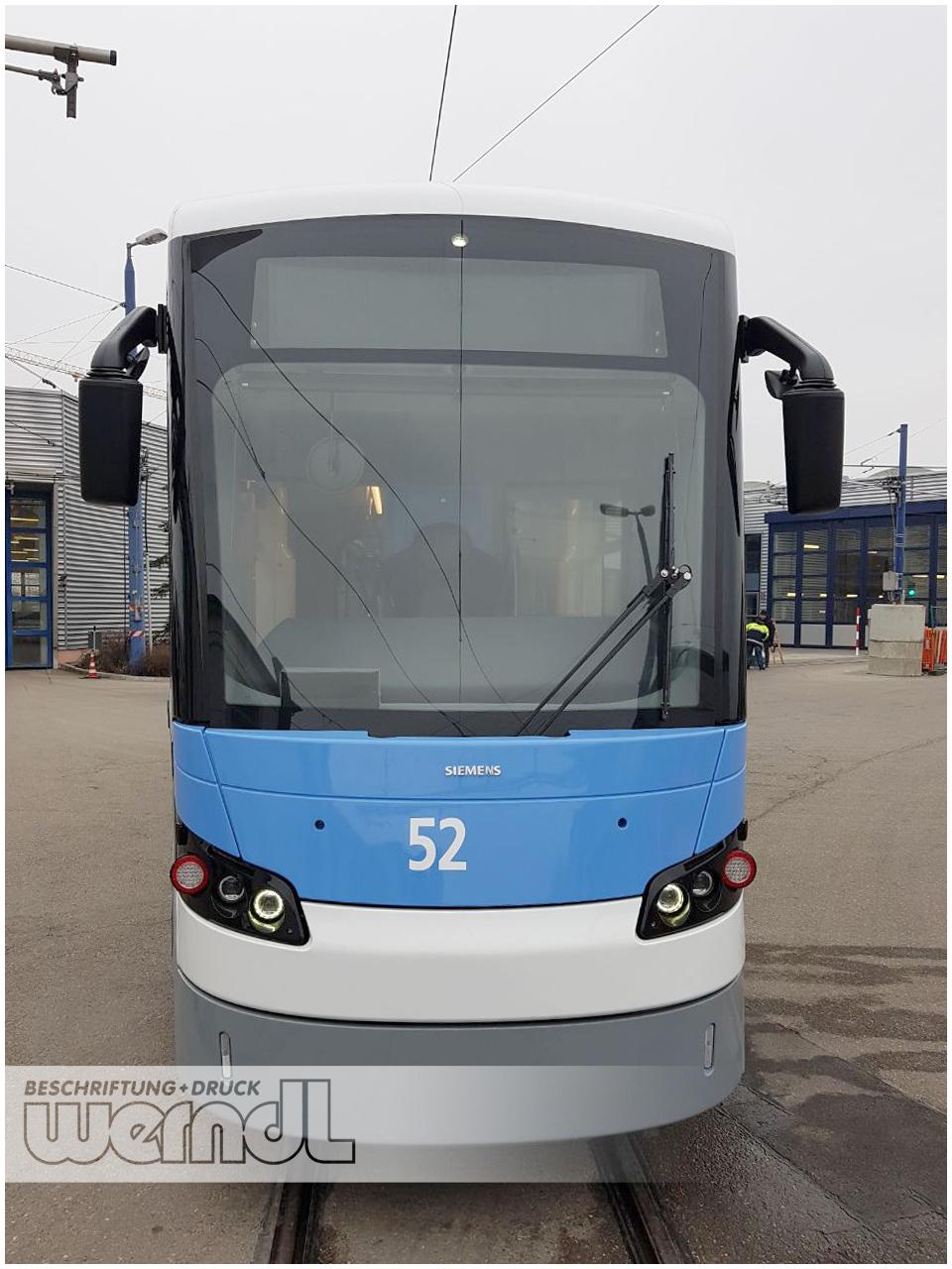 Der neue Avenio M - Wagen Nr. 52