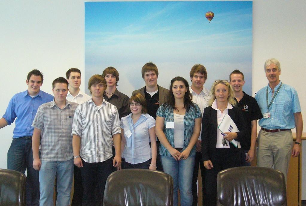 """Projekt """"Juniorunternehmen"""" (Workshop am OHG Ostfildern mit der Klasse 12 und der Klassenlehrerin Frau Nonnemann)"""
