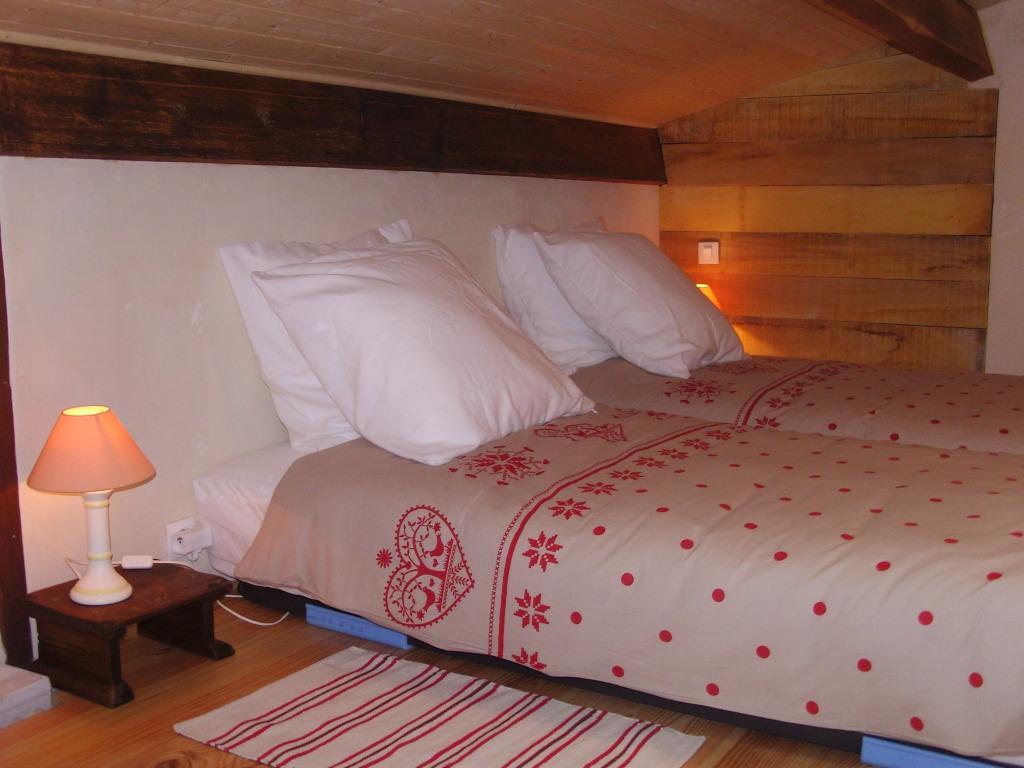 Le refuge gîte la Sotterie marais poitevin chambre à l'étage