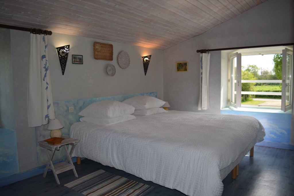 chambre lit 180x200 ou 2x90