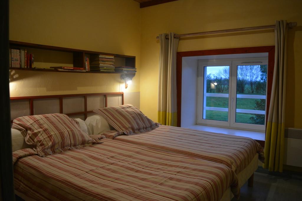 chambre 2 lits de 90 côté marguerite