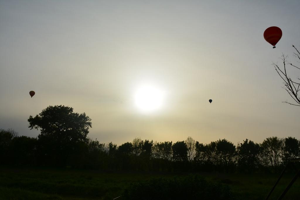 Vue imprenable et beau coucher de soleil