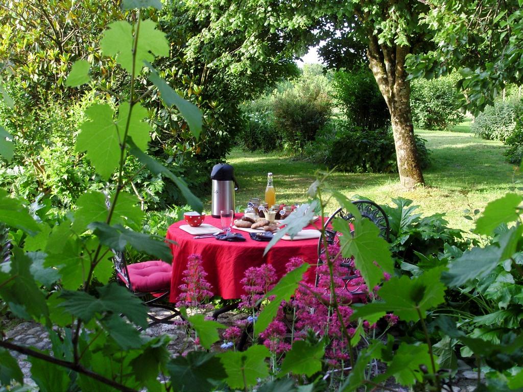 petit déjeuner bio maison d'hôtes de sainte megrine
