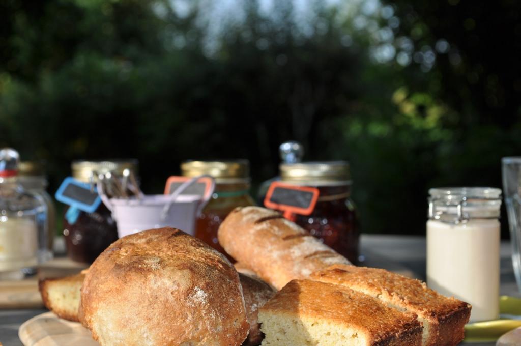 saveurs locales et maison petit déjeuner bio chambre d'hôtes coulon