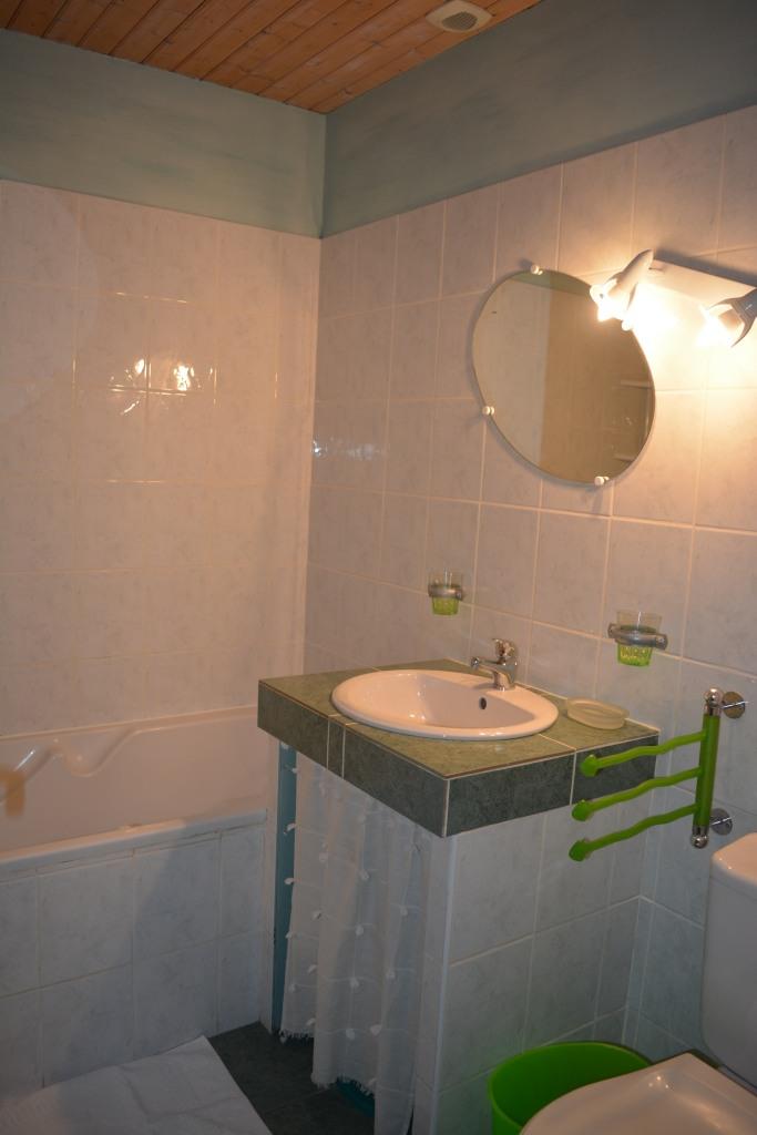 Salle de bains côté marguerite