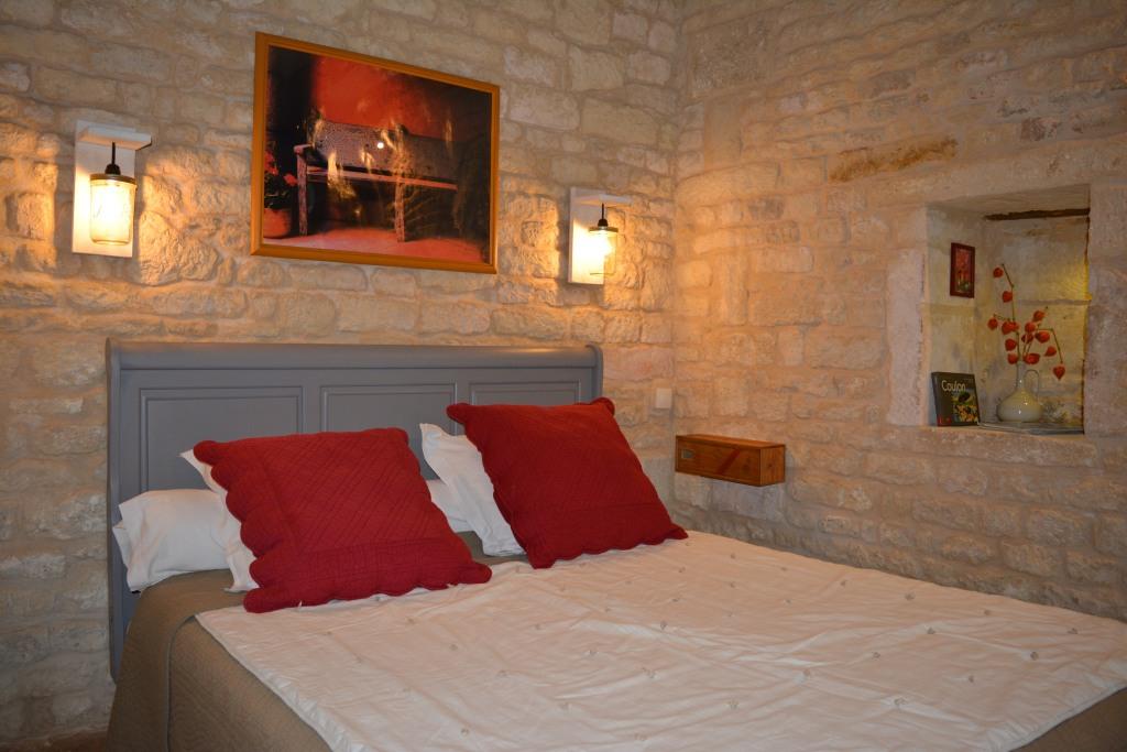 Chambre Le carré rouge