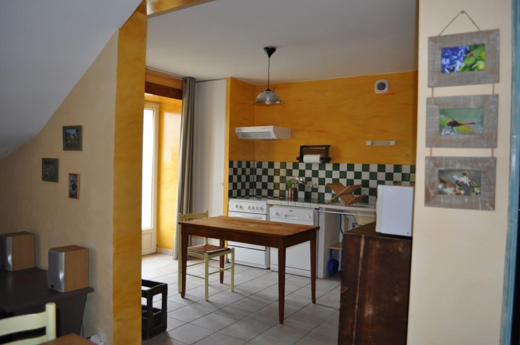 Gîte côté marguerite Sainte Megrine cuisine ouverte lumineuse