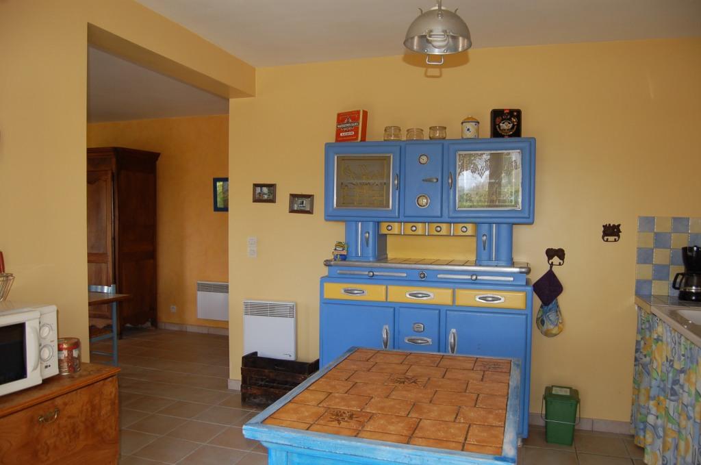 Gîte côté grenouilles Sainte Megrine la cuisine