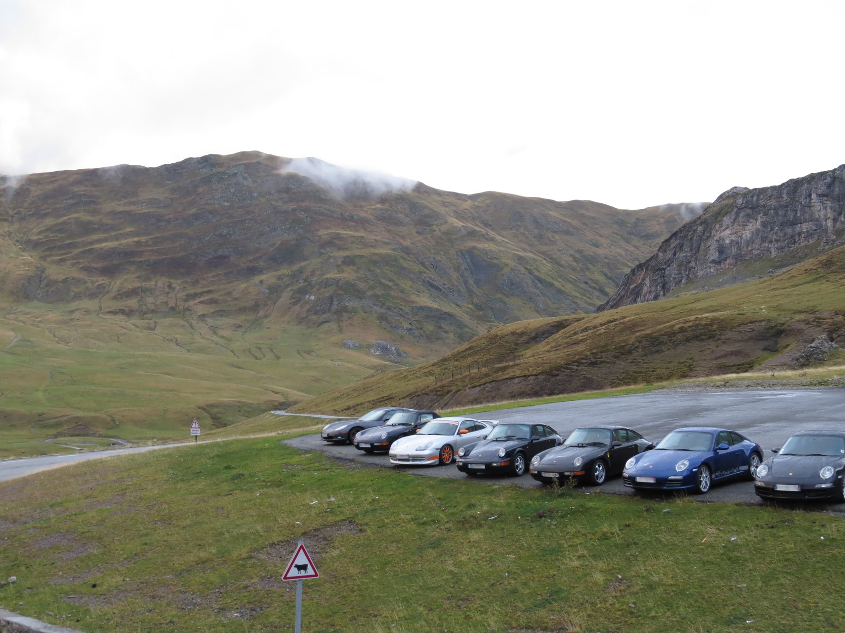 Parking du Pourtalet